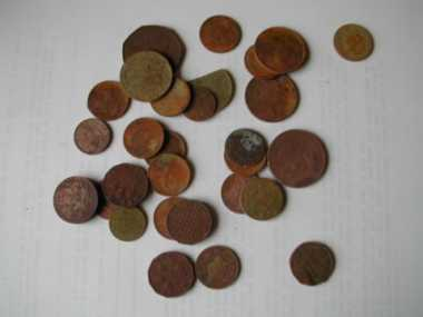 Coins found with a Tesoro Compadre