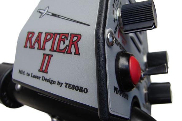 Laesr Rapier 2 metal detector review