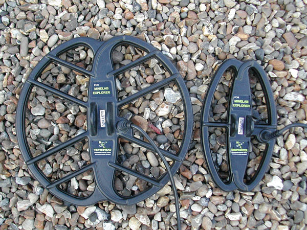 NEL search coils for Minelab Explorer