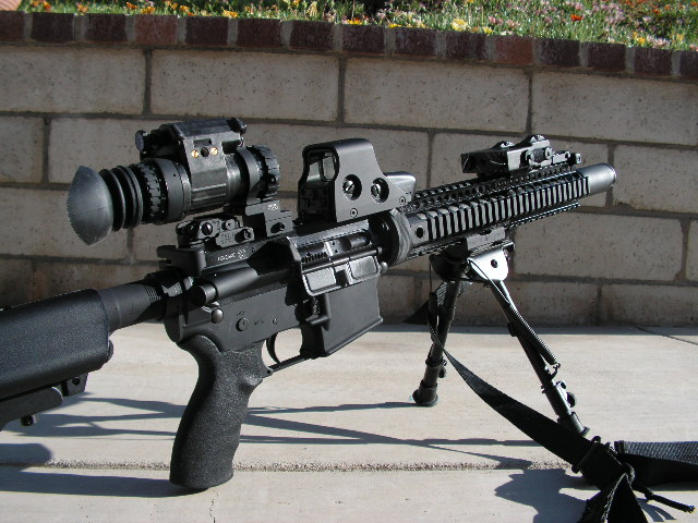 Gen 3 mounted on a ps 14 rifle